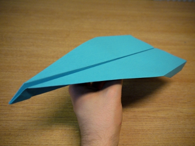 How to make a paper aeroplane: The Condor