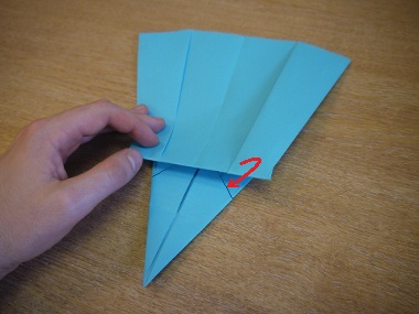 Paper Aeroplanes: The Merlin - Step 18