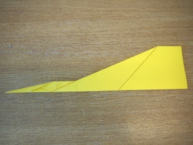 How to make a paper aeroplane: The Streamer 12