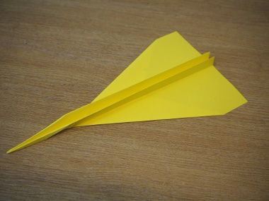How to make a paper aeroplane: The Streamer 13