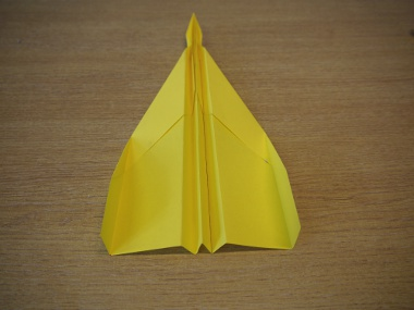 How to make a paper aeroplane: The Streamer 14a