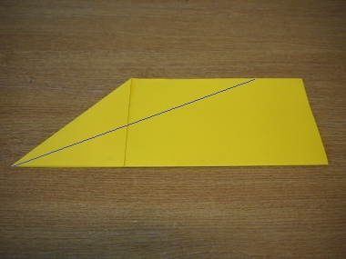 How to make a paper aeroplane: The Streamer 5