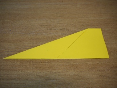 How to make a paper aeroplane: The Streamer 6