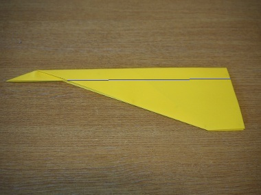 How to make a paper aeroplane: The Streamer 9