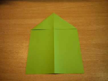How to make a paper aeroplane: The Lion 3a
