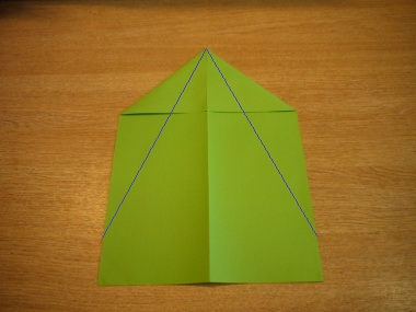 How to make a paper aeroplane: The Lion 4