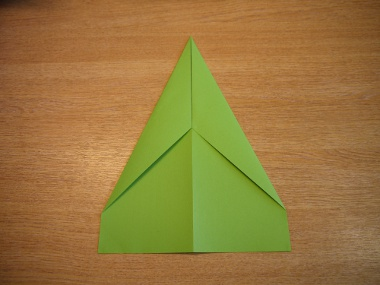 How to make a paper aeroplane: The Lion 4a