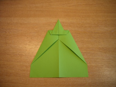 How to make a paper aeroplane: The Lion 6a