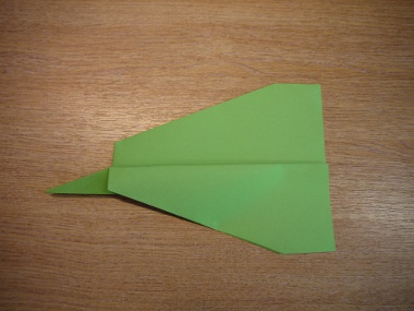 How to make a paper aeroplane: The Lion 8a