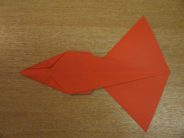 Paper Aeroplanes: The Spyder - Step 13a