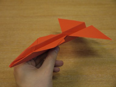 Paper Aeroplanes: The Spyder - Step 16