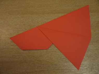 Paper Aeroplanes: The Spyder - Step 8a